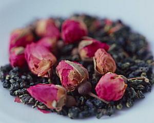 ハマナスウーロン茶